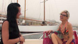 amatrice de marseille baisée sur un bateau